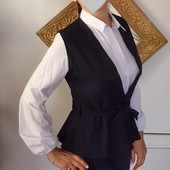 Неймовірні сорочка та жилетка. Чудовий комплект)