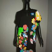 Качество! Свободное платье в отличном состоянии/бирки срезаны