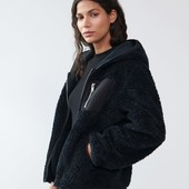 Куртка из искусственного меха.пушистик.оверсайз.размер евро 36(наш 44)