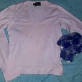 Нежный пудровый свитерок+подарок,S