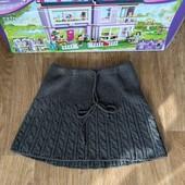 Не пропустите!Красивая фирменная вязаная юбочка на девочку 8-12 лМного лотов!