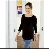 esmara.стильный пуловер обманка 2в1 XS32/34+6