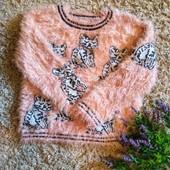 Мягенький свитер-травка, от Next