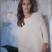 Esmara Германия Интересная плотная блуза Размеры