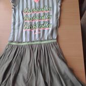 Красивое платье,состояние хорошее,р.122-128 на 7-8 лет,смотрите замеры