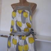 Freesoul шелковое платье 100% шелк XS-S-размер