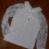 Блуза новая! без бирки. 122-128см