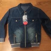 Джинсова курточка для хлопчика!!!
