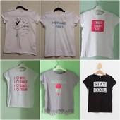 Стильные футболки для девочек.