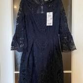 Качественное дорогое платье из кружева ONLY