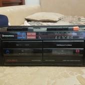 2ухкассетный магнитофон и радио.1на выбор