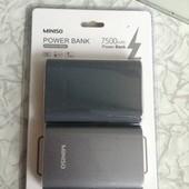 Портативное зарядное устройство павербанк повербанк Power bank powerbank miniso