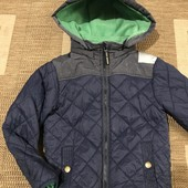 Демісезонна курточка на зріст 122/128, див.заміри