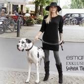 Стильное платье-туника с замочками на плечах, Esmara Германия, размер нем 40/42