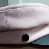 Теплая кепка с козырьком р-р56
