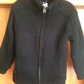 Кофта, куртка, внутри на шерпе, p. 7 лет 122 см. Palomino. сост. отл