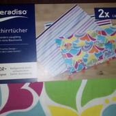 Готовим подарки!! Европейское качество кухонные полотенца набор 2 шт, 50х70 см Мeradiso Германия