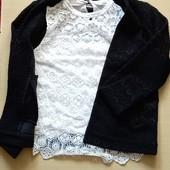 Пиджак и блузка , размер 44