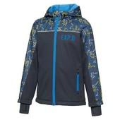 Куртка софтшелл Crivit Германия бирка упаковка 134/140р,ветронепродуваемая и влагозащитная
