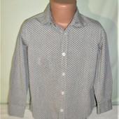 Новая рубашка на 6-7лет рост 122