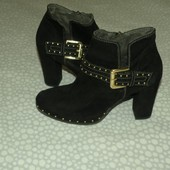 Шикарные ботинки Tamaris. разм. 37 (23 см)