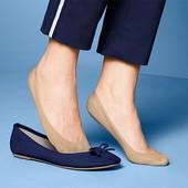 ☘ Лот 1 пара☘ Комфортні капронові шкарпетки-невидимки від Tchibo (Німеччина), р.35-38