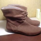 Замшевые ботинки Golder утеплённые. Стелька 26 см.