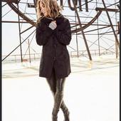 Легкая дубленка, куртка, пальто blue motion by Halle Berry, р.36/38, 44/46евро (наш 42/44, 50/52)