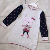 Стоп !❤зайка на роликах,фирменное коттоновое платье для девочки,2-3 года❤ Много лотов!