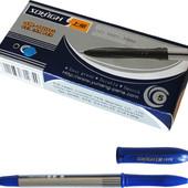 Ручка гелевая, синяя, 0,5мм. В лоте 3 штуки
