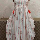 Котоновое женское платье Next, размер хс