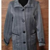 Деми пальто от Anne de Lancay в состоянии новой вещи р.50/52