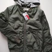 Утепленнная куртка бомберка H&M