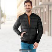 Мужская демисезонная куртка бомберс экологически чистой пропиткой Livergy размер L