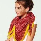 Яркий платок-шарф от тсм Tchibo Германия размер 90х90 см