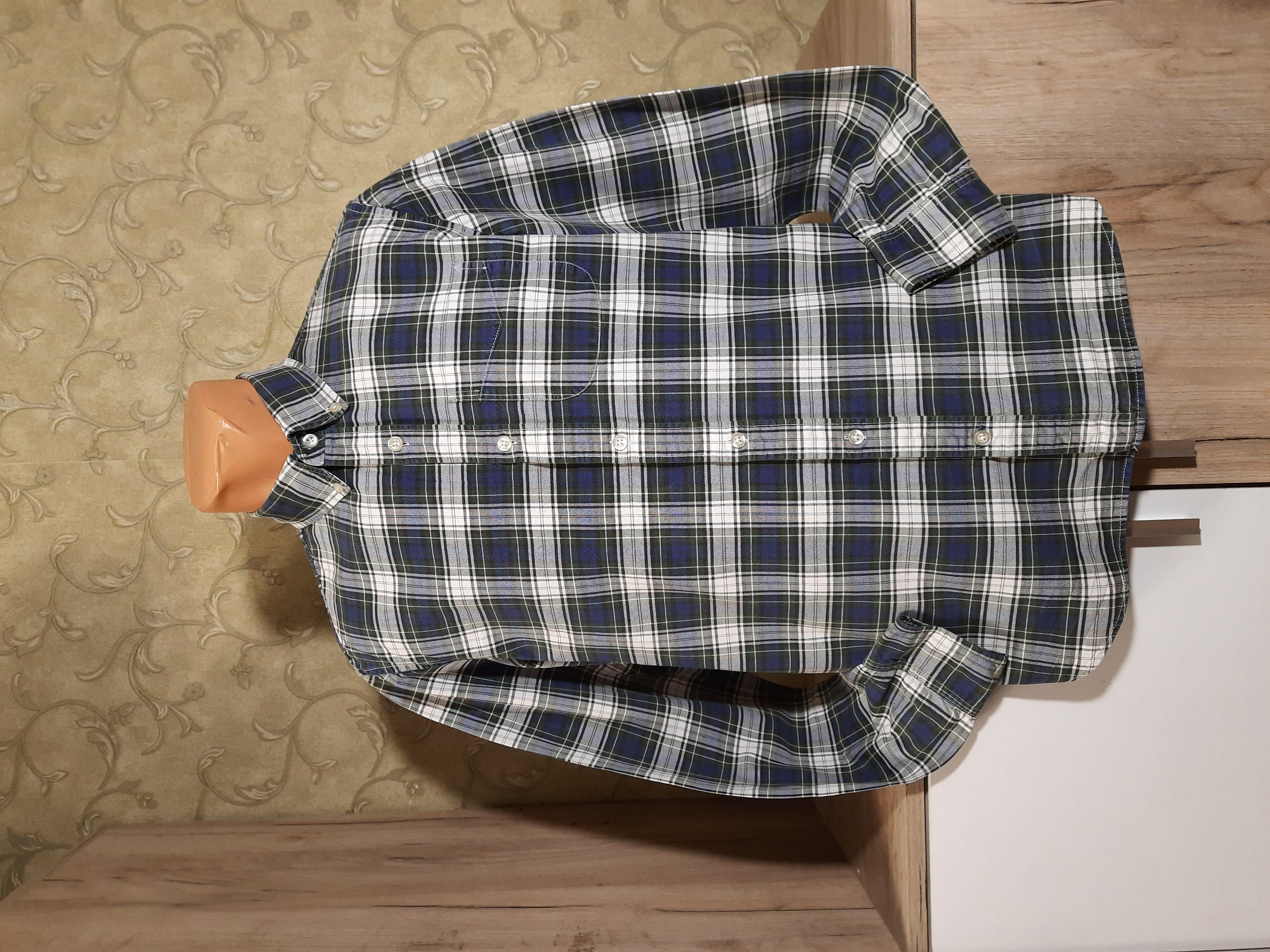 Собираем лоты!! Мужская рубашка,плотный котон, размер s