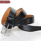 мужской высококачественный кожаный ремень casual от boccaccio.