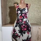 Собираем лоты!! Шикарное платье на подкладке с молнией на спине, размер 10/38 в жизни очень красивое