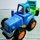 ♥☀♥Машинка - трактор с прицепом!!!(читаем лот)
