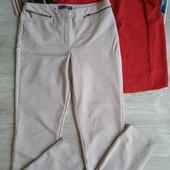 Светлые бежевые брюки