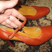 туфли женские кожа размер 40 стелька 25,7