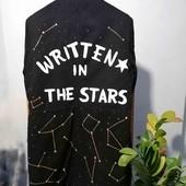 Куртка демисезонная, размер М, созвездия светятся в темноте
