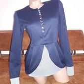 ☀️ Хорошенькая кофта с имитацией рубашки
