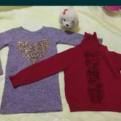 Лот одежды для девочки 3-4