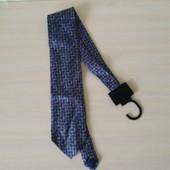 Стильный галстук брендовый 100% шелк