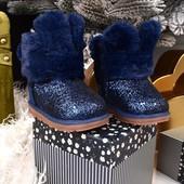 тёплые зимние угги зайчики, ботиночки на девочку, новые. распродажа!!!