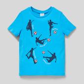 Новая фирменная футболка С&А,био-котон,128р.