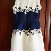 Красивое платье в состоянии новой вещи.