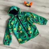 Куртка дождевик на флисе 5/6 лет , смотрите Замеры