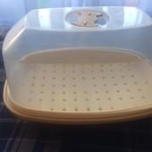 Пароварка для микроволновки для здорового питания, можно и для стерилизации банок и детской посуды